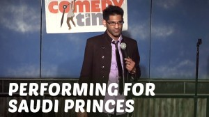 Comedy Time - Stand Up Comedy by Jay Mandyam - Performing for Saudi Princes